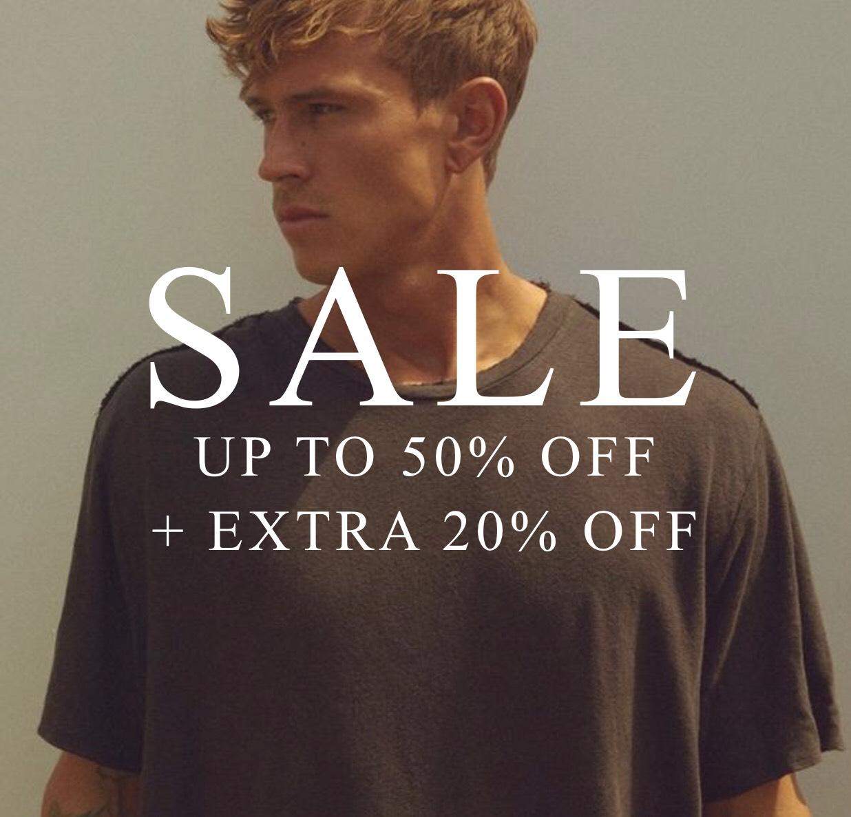 20% auf bereits reduzierte Sale Preis On/Offline