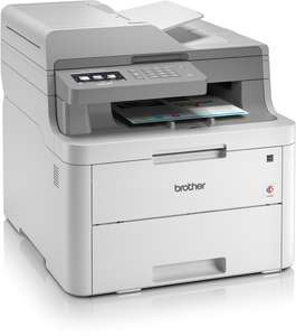 Farblaser-Kombi Brother DCP-L3550CDW (Drucker/Scanner/Kopierer, 250 Blatt, Duplexeinheit, ADF, WLAN, LAN, USB 2.0, Mobildruck) +30€ Cashback