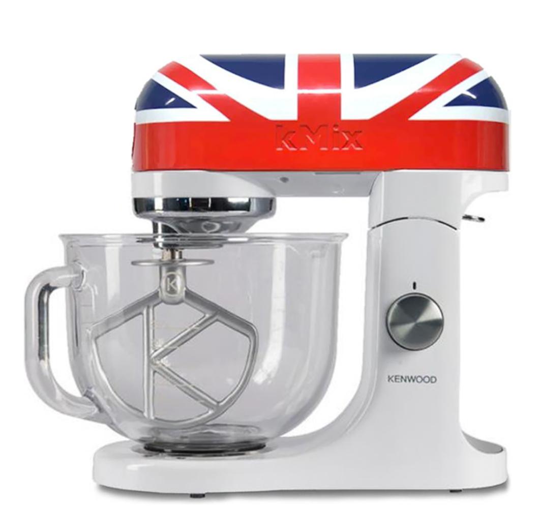 (B4F) Kenwood Küchenmaschine KMX50 im Austin Powers Design