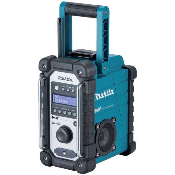 MAKITA Akku-Baustellenradio DMR110 DAB, DAB+ und FM für 85€ [toolineo]