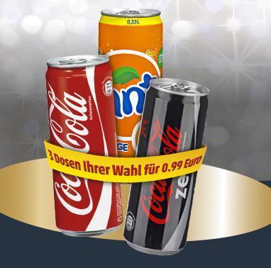 [PENNY] Coca Cola, -Zero, Fanta nur 0,33€ Dose - 0,33L