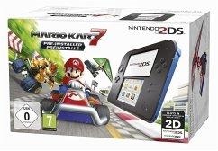 Nintendo 2DS schwarz/blau inkl. Mario Kart 7 für 69€ + Cashback (bücher.de/Masterpass)