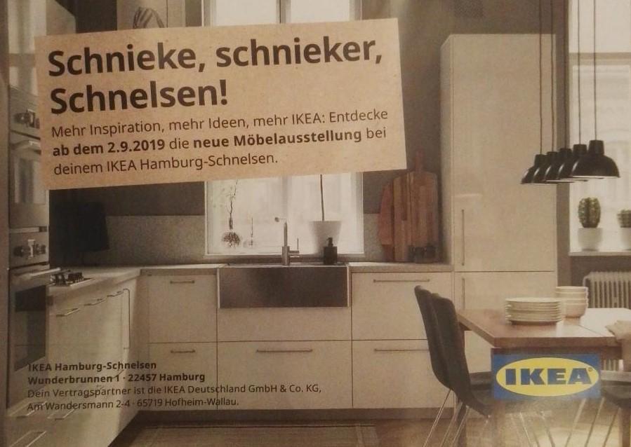 [IKEA Hamburg Schnelsen] -10€ pro 100€ Einkaufswert