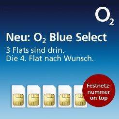 o2 select effektiv 9,99€ sms Flat, o2 flat, internet Flat und wunsch Flat