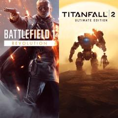 Battlefield 1 Revolution & Titanfall 2 Ultimate Bundle (PS4) für 9,99€ (PSN Store)