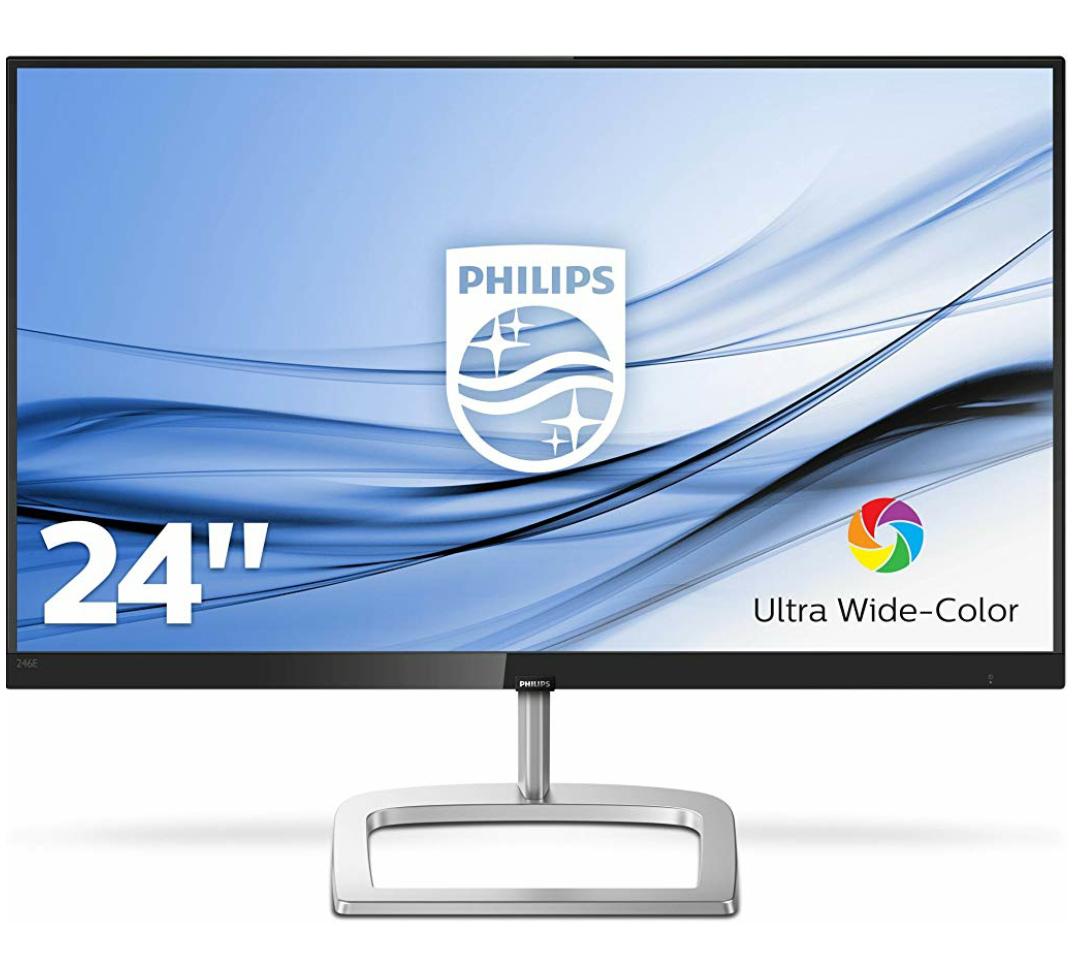 "Philips 246E9QJAB/00 60 cm (23,8"") FreeSync IPS Monitor (VGA, HDMI, DisplayPort, 1920 x 1080) schwarz"