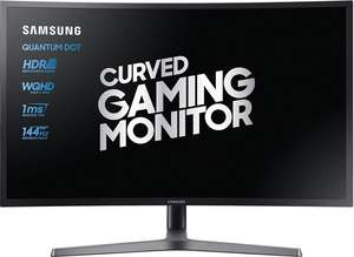 "Samsung C32HG70 32"" Gaming Monitor (QHD, curved VA Panel, 144Hz + AMD FreeSync 2 HDR (LFC), 1ms, 350cd/m², 2x HDMI 2.0, 1x DisplayPort 1.4))"