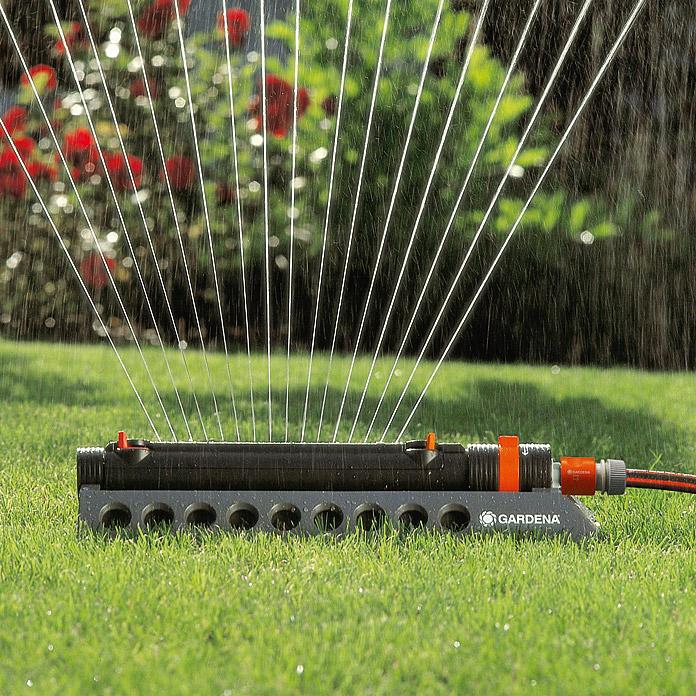 [Bauhaus TPG] Gardena Comfort Aquazoom 250/2 Viereck-Regner für 26,39 /Obi Angebot