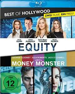Equity & Money Monster Best of Hollywood 2 Movie Collector's Pack (2 Disc Blu-ray) für 6,86€ (Amazon Prime)