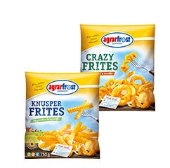 Edeka (Nord) - AgrarFrost Crazy Frites (450g) für 0,51 €