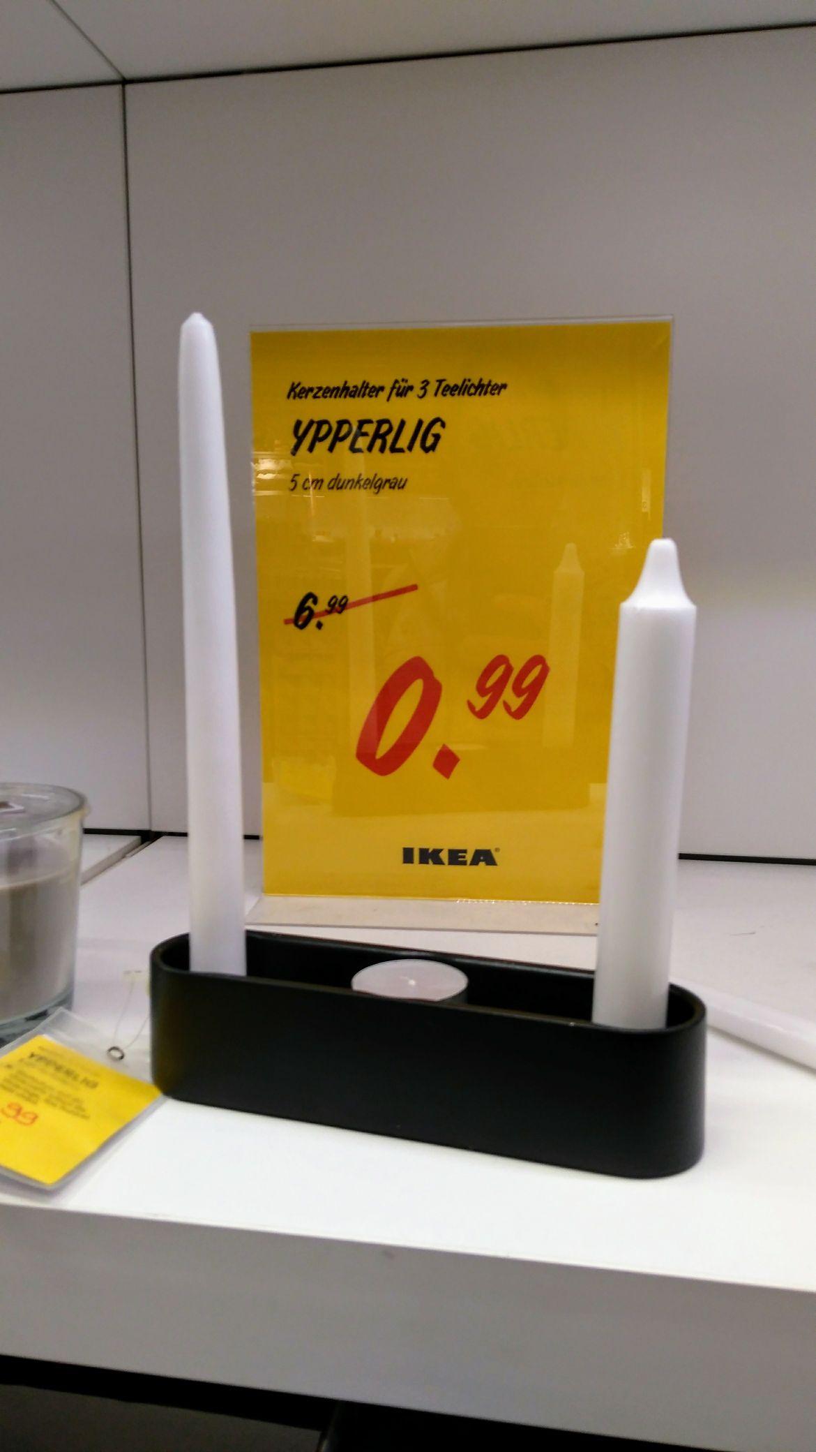 IKEA Oldenburg YPPERLIG 3er Kerzenhalter