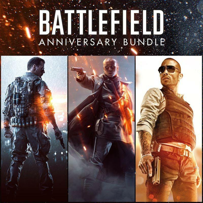 Battlefield 1 (Spiele + Season Pass) + Battlefield 4 (Spiele + SP) + Battlefield Hardline (Spiele + SP) + Battlepacks auf PS4 (PSN Store)