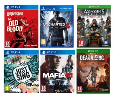 PS4 & XBox One Spiele für 5€ im Abverkauf z.B. Uncharted 4, Dead Rising 4  o. Wolfenstein: The Old Blood für je 5€   [MediaMarkt.nl]