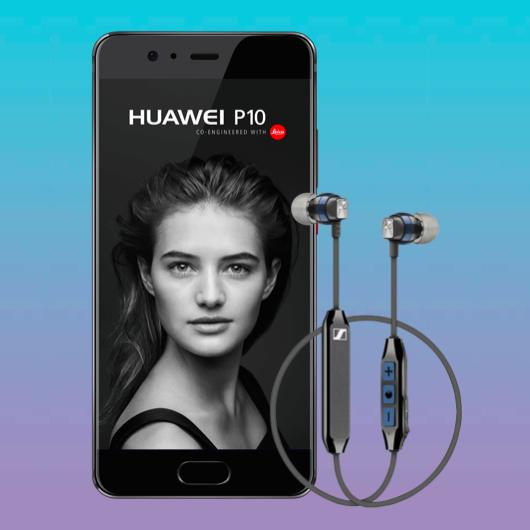 Huawei P10 inkl. Sennheiser CX6 für 4,99€ ZZ mit MD Green LTE (VF / Telekom) für mtl. 11,99€ mit 2GB LTE