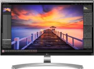 "LG 27UD88-W 27"" 4K Monitor (mattes IPS, 60Hz mit AMD FreeSync, USB Typ-C Anschluss mit DisplayPort & 60W PowerDelivery, 350cd/m²)"