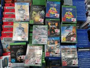 Lokal Saturn Kempten. CoD Black Ops 4 Xbox & PS4 10,- EUR, Forza 4 10,- EUR, Hellblade XBOX 5,- EUR und viele andere