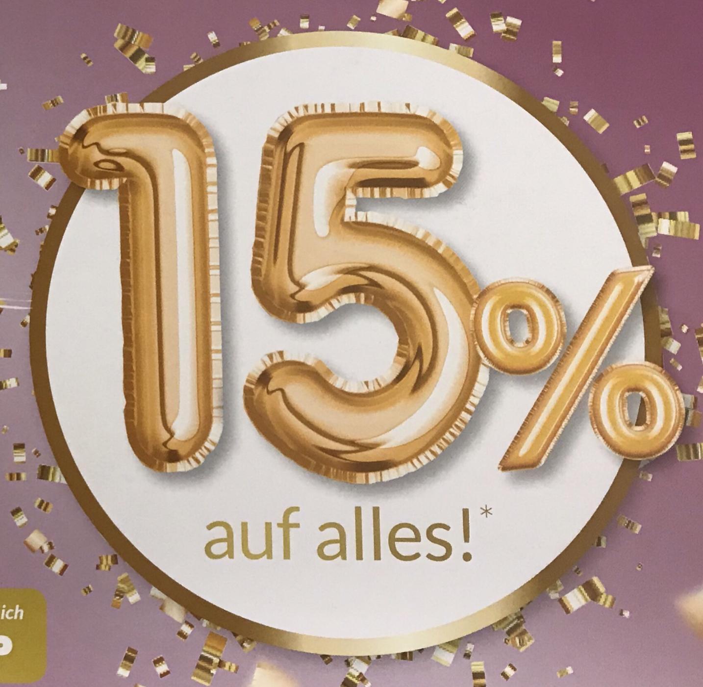 15% auf ALLES bei Schwab (leider nicht für alle) z.B. Apple Airpods 2 für 148,25€ o. OnePlus 7 128GB für 472,10€