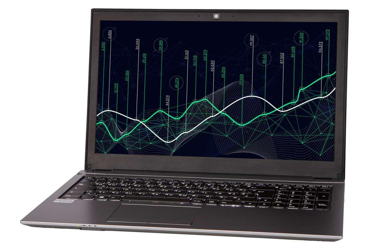 Clevo Intel n4100 8Gb Ram 240gb SSD 15 Zoll FullHD USB 3.0 Type C  beleuchtete Tastatur