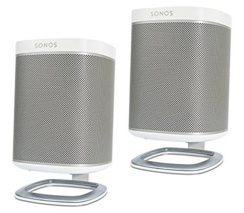 [Amazon Prime] 2x Flexson FLXP1DS2011 - Tisch-Ständer für SONOS PLAY:1 in weiß