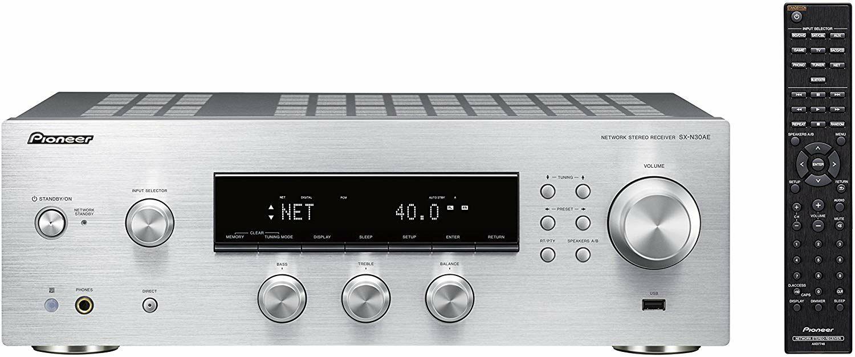 Pioneer SX-N30AE-S: 135W Netzwerk-Receiver - Stereo - Multiroom - WiFi integriert - Chromecast