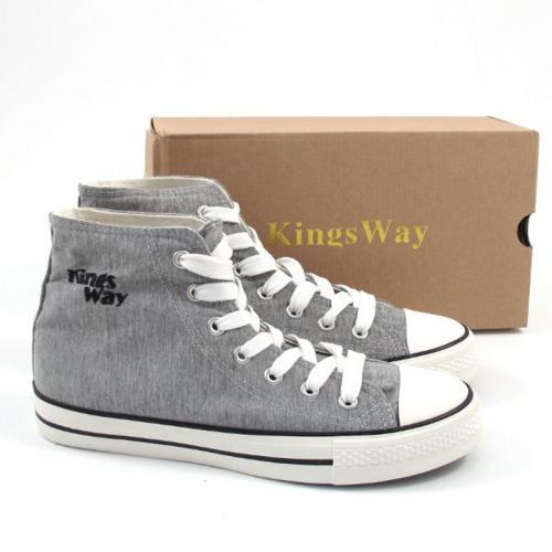 50% reduziert, Kings Way Chucks Schuhe Grau für Frauen, Chuck Taylor Verschnitt