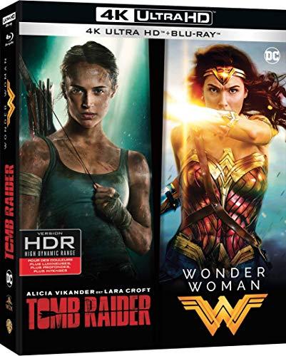 Tomb Raider (2018) + Wonder Woman (4K Blu-ray + Blu-ray) für 20,38€ inkl. Versand (Amazon FR)
