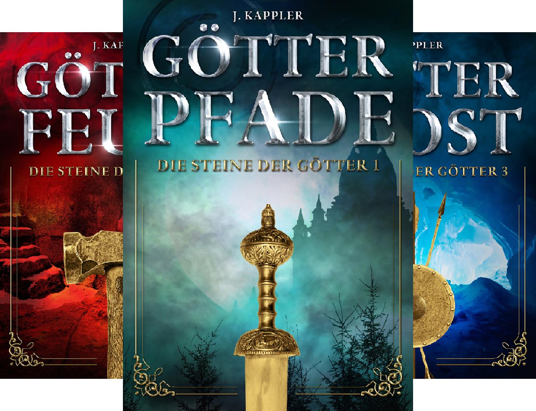 High-Fantasy Ebook-Reihe - komplett: Steine der Götter 1-4 für Kindle kostenlos