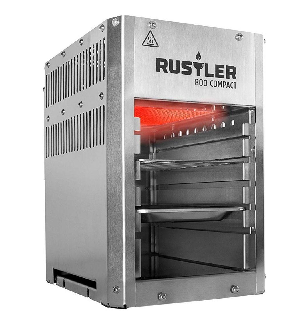 [Amazon] Rustler Oberhitze Gasgrill für 99€
