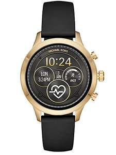 Michael Kors Damen-Smartwatch mit Silikon Armband