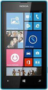 Nokia Lumia 520 blau Smartphone [eBay]