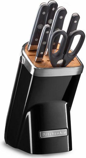 [OTTO] Kitchenaid Messerblock schwarz od. rot