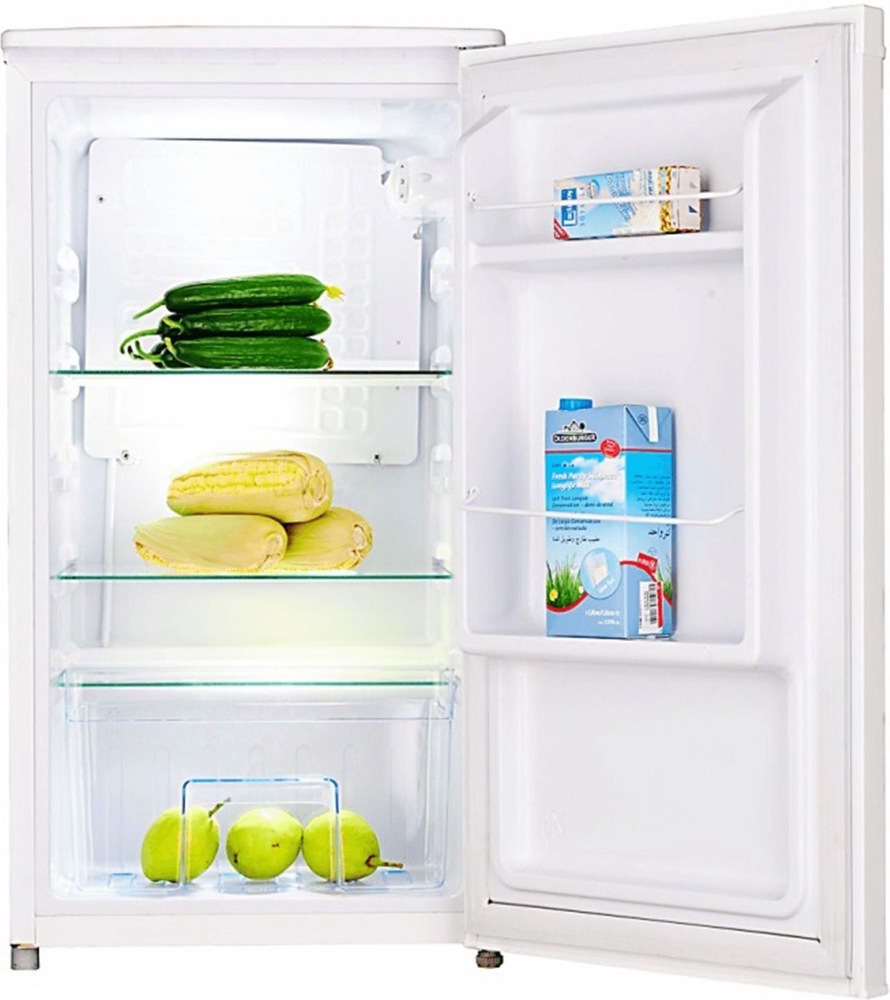 Haushaltsgeräte bei Lidl: Tischkühlschrank exquisit KS 85-9 RV A+