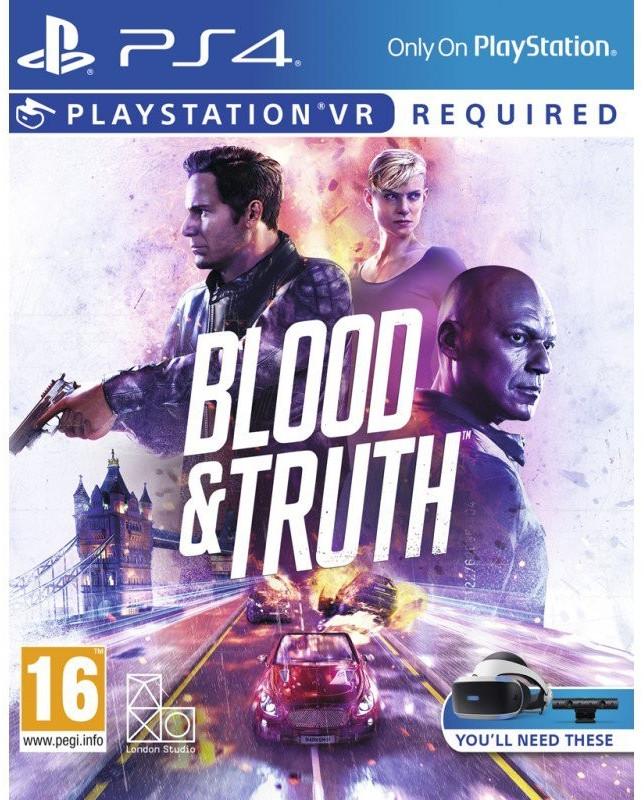 Blood & Truth (PS4-VR) für 25,74€ (Base.com)