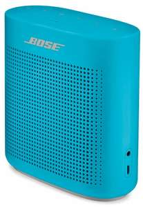 "Bose SoundLink Color II - Bluetooth speaker (""wasserfest"" nach IPX4, NFC, AUX) in Blau"