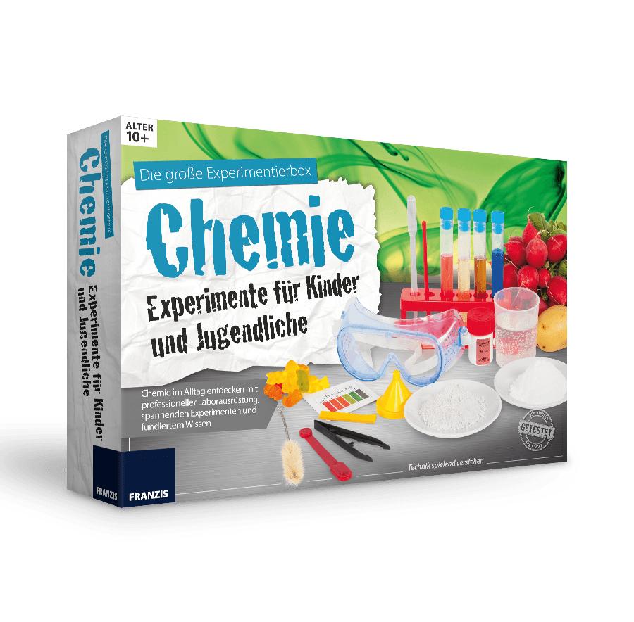 Die große Experimentierbox Chemie
