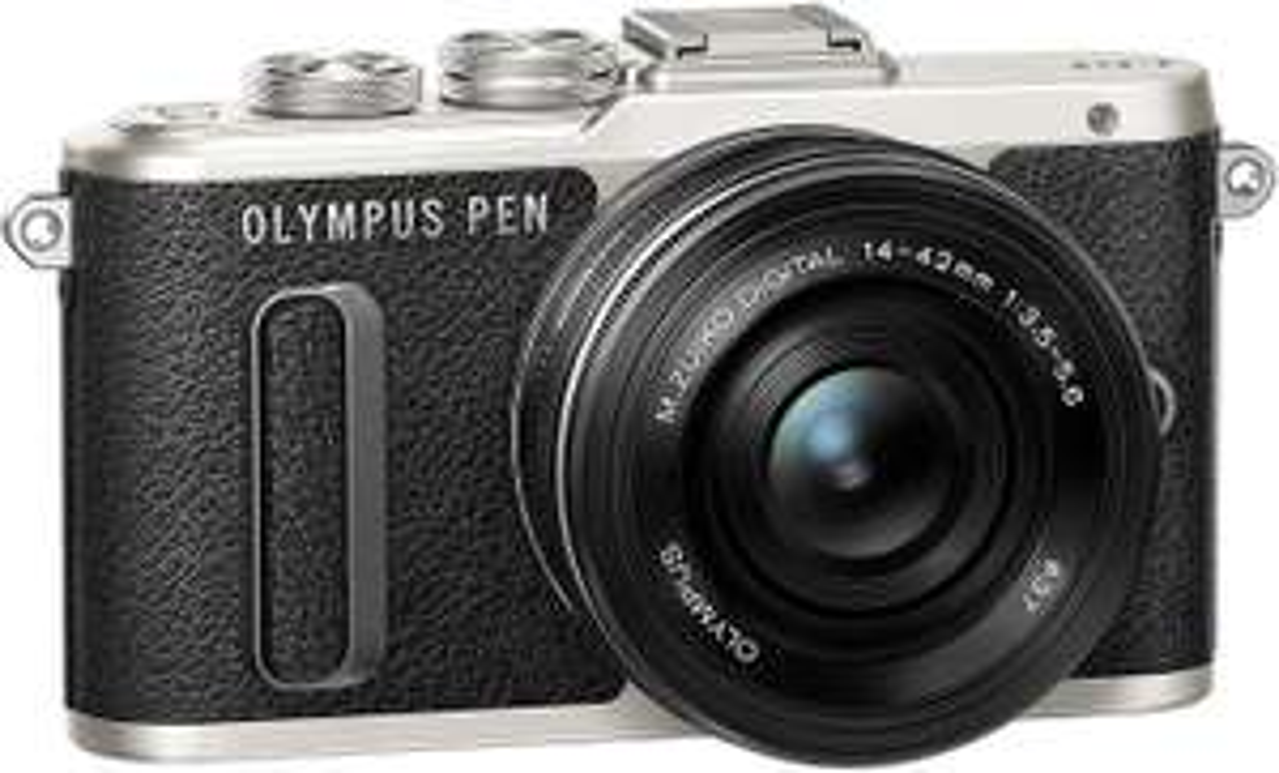 "Systemkamera Olympus Pen E-PL8 14-42 mm Kit (Micro-Four-Thirds, 16MP, 3"" Touchscreen, Blitzschuh, 3D-Fotos, 1080p30, SD, HDMI, USB, WLAN)"