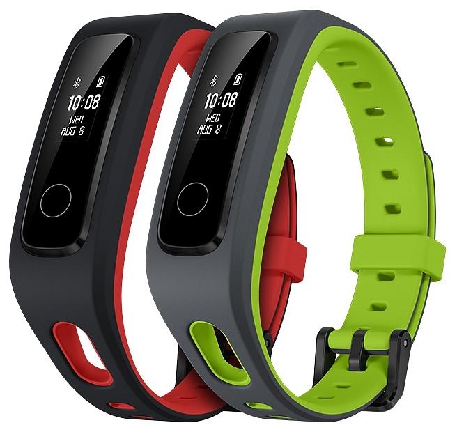 """Honor Band 4 Running Fitnesstracker in rot oder grün (0,5"""" monochrom OLED Touchscreen, BT 4.2, Schlaftracking, bis zu 12 Tage Akkulaufzeit)"""