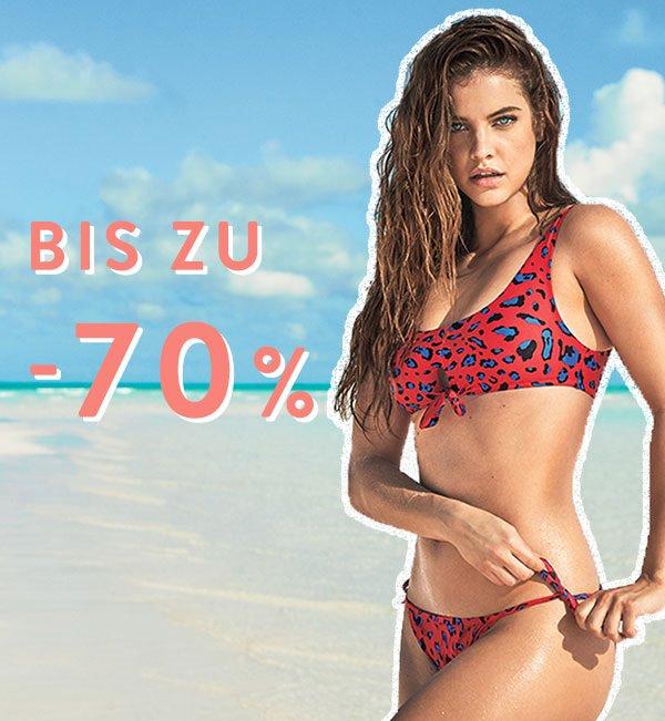 Bis zu 70% Sale auf Bikinis + 20% extra wenn man mindestens 4 Teile kauft @ Calzedonia