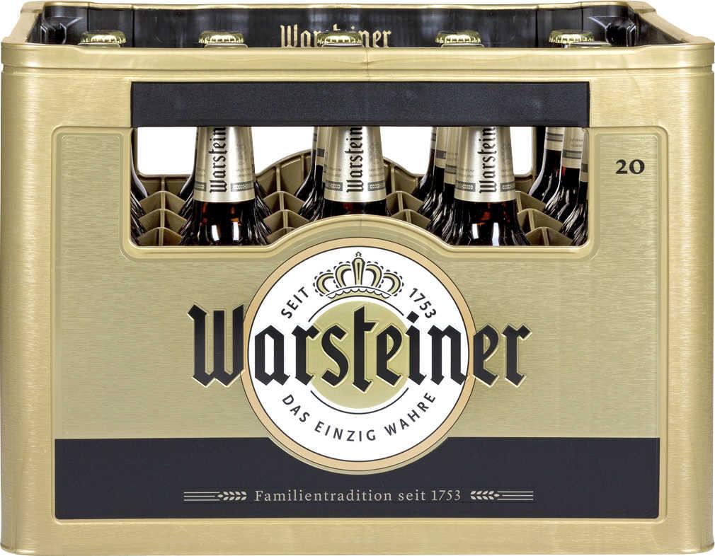 (Kaufland) WARSTEINER Premium Pils_Ka. 20 x 0,5-l-Fl. (-26%)