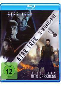 Star Trek (2009) & Star Trek Into Darkness (2013) Blu-ray