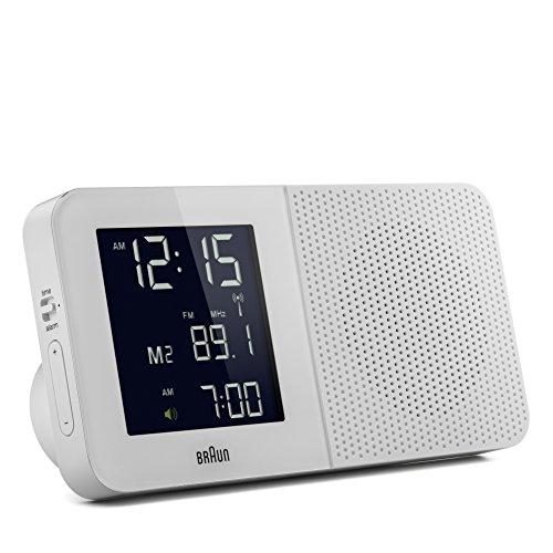 BRAUN BNC010 weiß Radiowecker