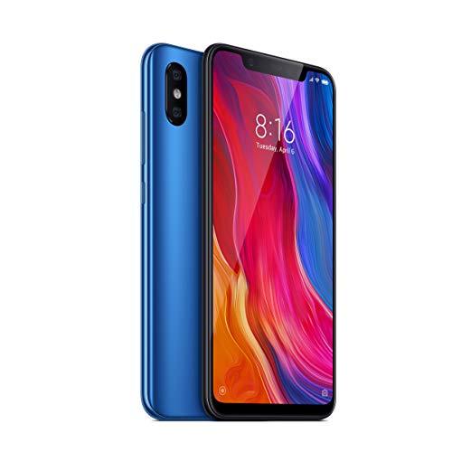 Xiaomi Mi 8 (SD845, 6/64GB, blau) [Verkauf über Amazon]