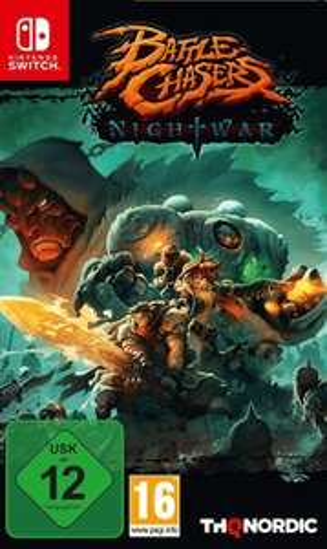 Battle Chasers: Nightwar (Switch) für 16,99€ (Müller)