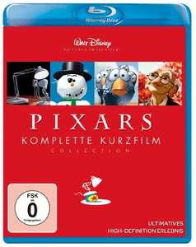 Pixars komplette Kurzfilm Collection (Blu-ray) für 6,99€ (Amazon Prime & Real)