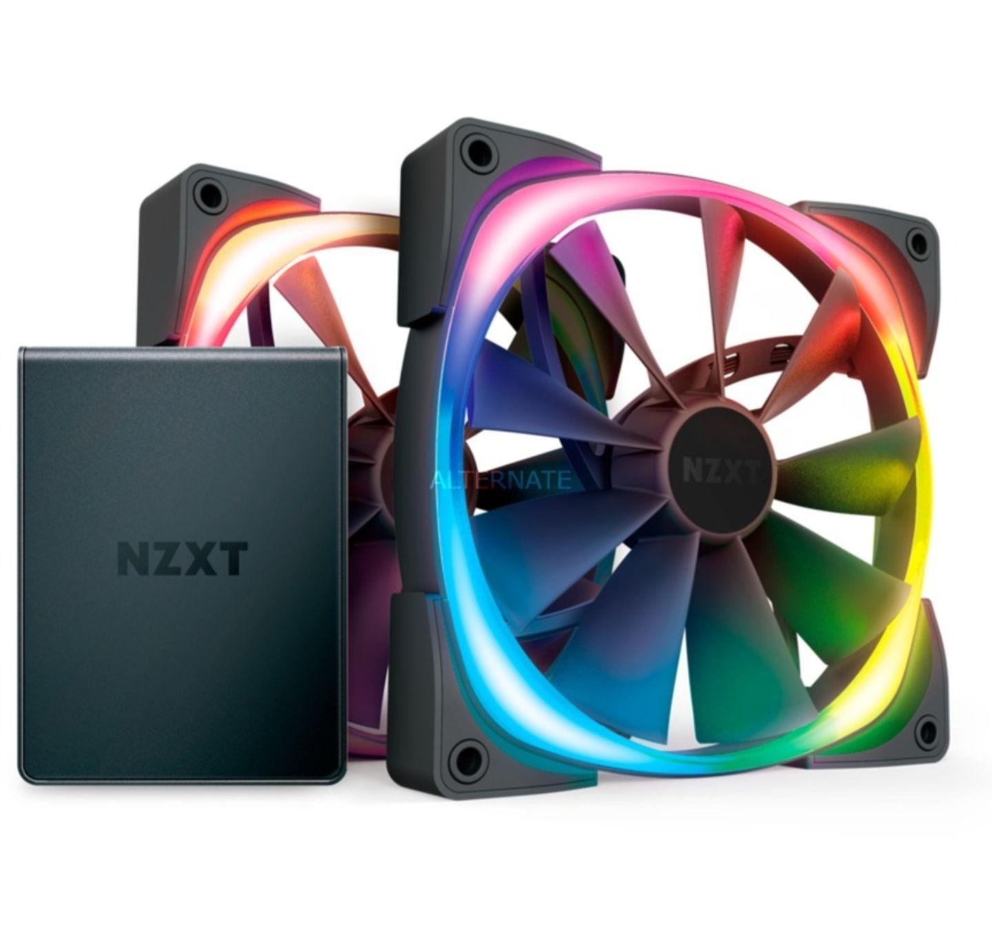 NZXT AER RGB 2 Tein Starter Kit 140mm inkl. HUE2-Controller im ZackZack bei Alternate.de