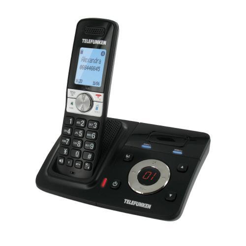 Telefunken: TX 151 Schnurloses Telefon mit Anrufbeantworter und Bluetooth @Euronics.de