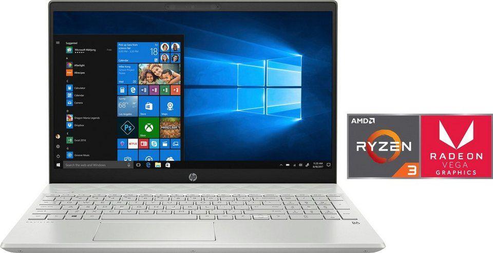 HP 15-cw12 Notebook (39,6 cm/15,6 Zoll, AMD Ryzen 5, 512 GB SSD)