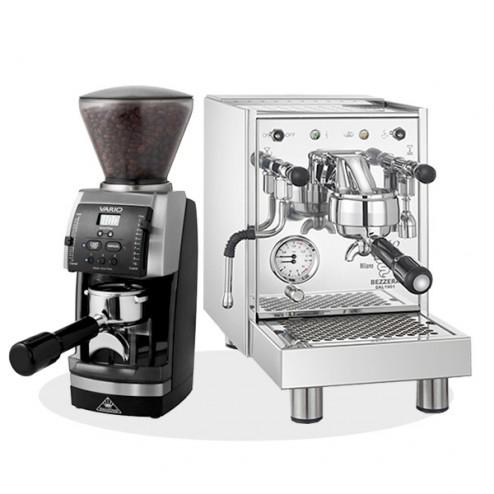 Bezzera BZ10 & Mahlkönig VARIO home V3 [Siebträgermaschine & Espressomühle]