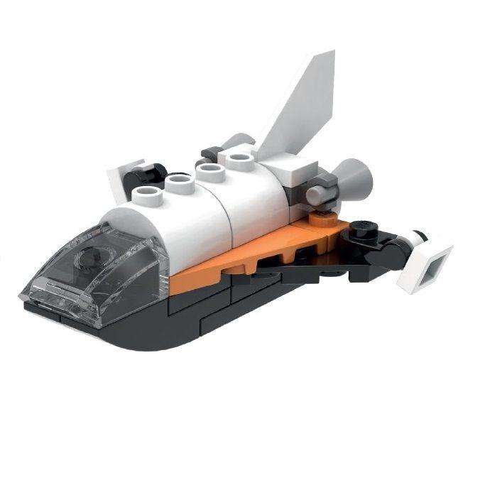 LEGO Stores: Kostenloses Minimodell des Space Shuttles (24. Juli, 14 bis 16 Uhr)