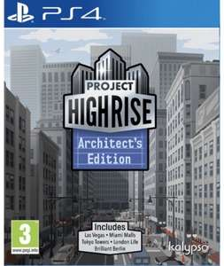 Project Highrise: Architects Edition (PS4 & Xbox One) für je 11,45€ (Base.com)